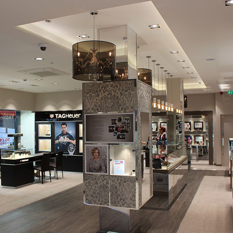 Chesterfield's new gem shortlisted for Best Store Environment by the 2016 UK Jewellery Awards
