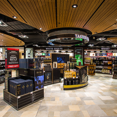 Duty Free spend up at Brisbane Airport