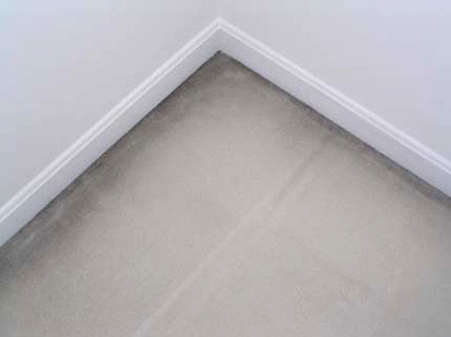 Ever wonder what those dark marks are on the edges of your carpet?