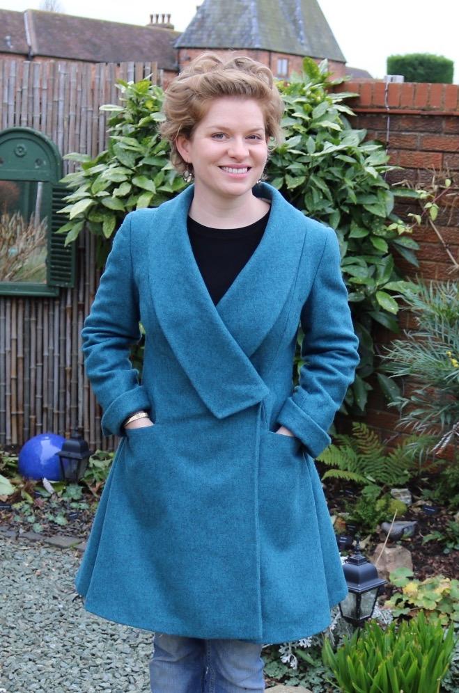 Winter Coat in Shetland Tweed