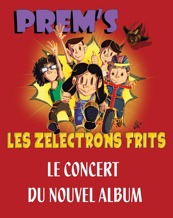 Concert de Rock pour Enfants Prem's Les Zélectrons Frits - crédit Lucas Ponzio