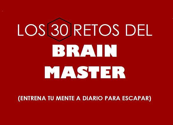 """2 libros """"LOS 30 RETOS DEL BRAIN MASTER"""""""