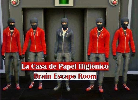 """Escape Room """"LA CASA DE PAPEL HIGIÉNICO"""""""
