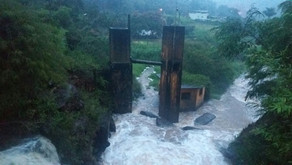 Chuvas do início de fevereiro preocupam população de Manhuaçu e Região