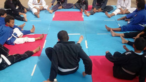 Projeto Gaditas do Futuro realiza treino na praça em Santo Amaro