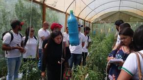 Instituto Federal em Realeza leva alunos para atividades em fazenda do Espirito Santo