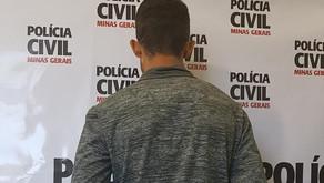 Acusado de incendiar a casa da ex é preso pela PC de Manhuaçu