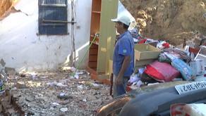 Após problemas mecânicos no veículo, vereador se envolve em acidente e destrói casa em Vargem Alegre