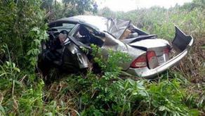Acidente na MG-425 deixa três feridos em Vargem Alegre