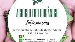 Estão abertas inscrições para o Curso de Agricultor Orgânico no Instituto Federal em Realeza