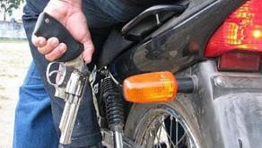 Motocicleta é furtada em Realeza