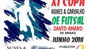 Final da 11ª Copa Nunes e Carvalho de Futsal será hoje