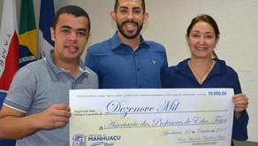 Prefeitura de Manhuaçu incentiva projetos sociais através do esporte