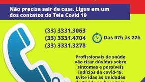 Prefeitura de Manhuaçu lança call center para facilitar atendimento à população durante quarentena