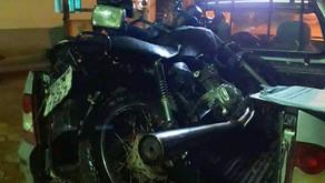 Motocicleta Furtada  é localizada pela PM em Santo Amaro