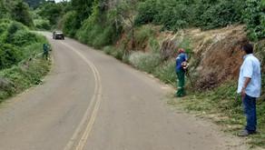 SAMAL realiza limpeza no acesso a São Sebastião do Sacramento