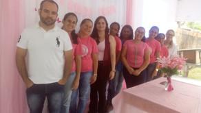 ESF de Santo Amaro de Minas realiza palestra sobre Câncer de Mama