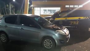 PRF de Realeza recupera veículo furtado