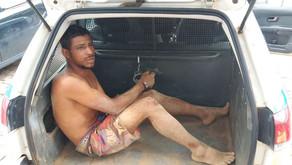 Morador de Dom Corrêa é preso após onda de assaltos