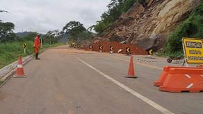 DNIT libera meia-pista na BR-116 em Muriaé - Laranjal