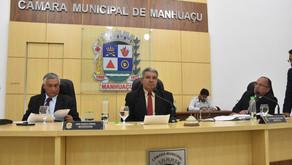 Câmara de Manhuaçu se reúne para mais uma sessão Ordinária