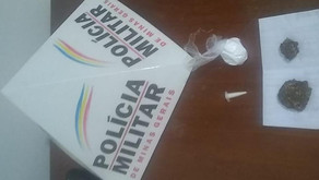 PM apreende drogas em Vilanova
