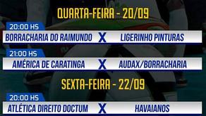 7ª Super Taça Manhuaçu de Futebol jogos hoje e sexta.