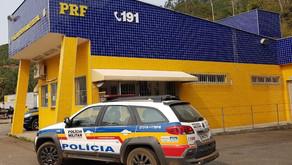 PRF e PM prendem, no trevo de Realeza, acusados de tentativa de homicídio