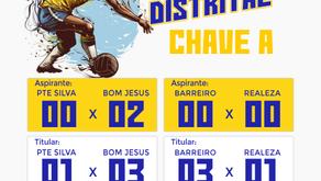 Resultado da 4ª rodada do Campeonato Distrital
