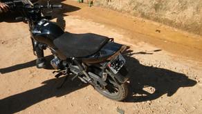 Motocicleta tomada em assalto é localizada em Vilanova