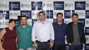 Secretário de Esportes recebe vereadores de Viçosa e apresenta estrutura municipal