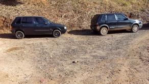 Veículos roubados em Dom Correa são abandonados em Caratinga
