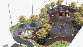 Verba para construção da Praça de Realeza está na conta da Prefeitura