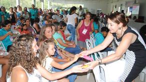 Prefeita Cici participa do 15º Encontro das Mulheres Rurais de Vila de Fátima
