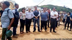 Deputado João Magalhães acompanha o Governador em visita em Rio Casca.