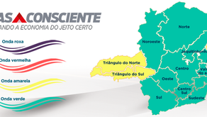 Região de Manhuaçu progride para a onda verde
