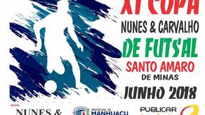 Começa hoje a 11ª Copa Nunes e Carvalho de Futsal