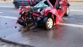 Acidente com envolve 3 veículos e uma vítima fatal em Santa Rita de Minas