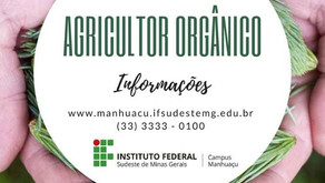 Curso de Agricultor Orgânico no Instituto Federal em Realeza