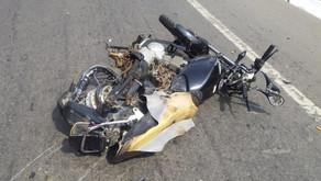 Jovem morre em acidente na BR-116, em Dom Corrêa
