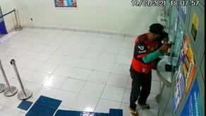 Bandido rouba em lotérica em Manhuaçu
