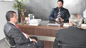 Presidente da Câmara Inspetor Juninho Linhares visita PM, PC e Bombeiros para tratar de segurança pú