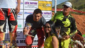 Família Gomes no pódio do Motocross em Bom Jesus do Galho