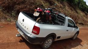 Moto furtada é localizada em Vilanova