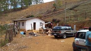 Operação policial recupera móveis furtados de casa