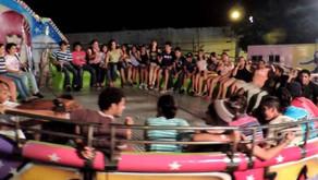 Luisburgo: acidente em parque de diversões deixa jovem gravemente ferido