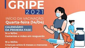 Manhuaçu inicia Campanha de Vacinação contra Gripe