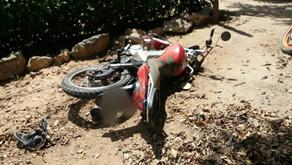 Acidente envolvendo duas motos é registrado em Santa Bárbara do Leste