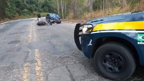 Motociclista fica gravemente ferido em acidente em Realeza