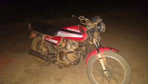 Mais uma motocicleta é recuperada pela Polícia Militar de Realeza